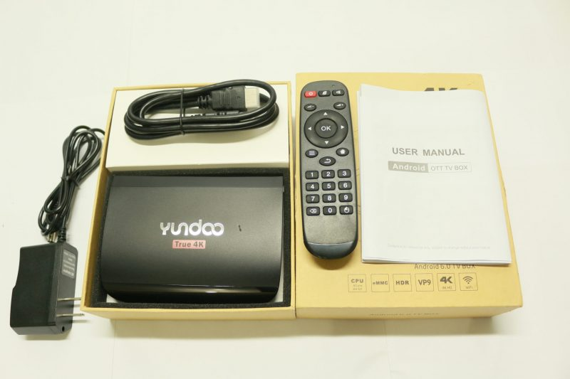 Yundoo Y2 Package contents