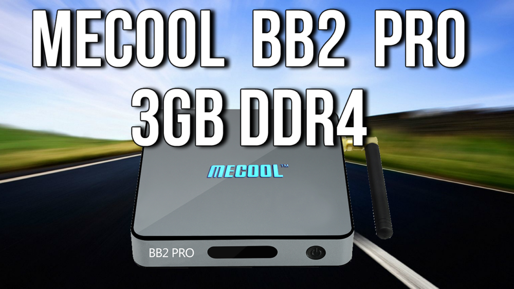 Mecool BB2 Pro 3GB DDR4 Android 6.0 4K TV box