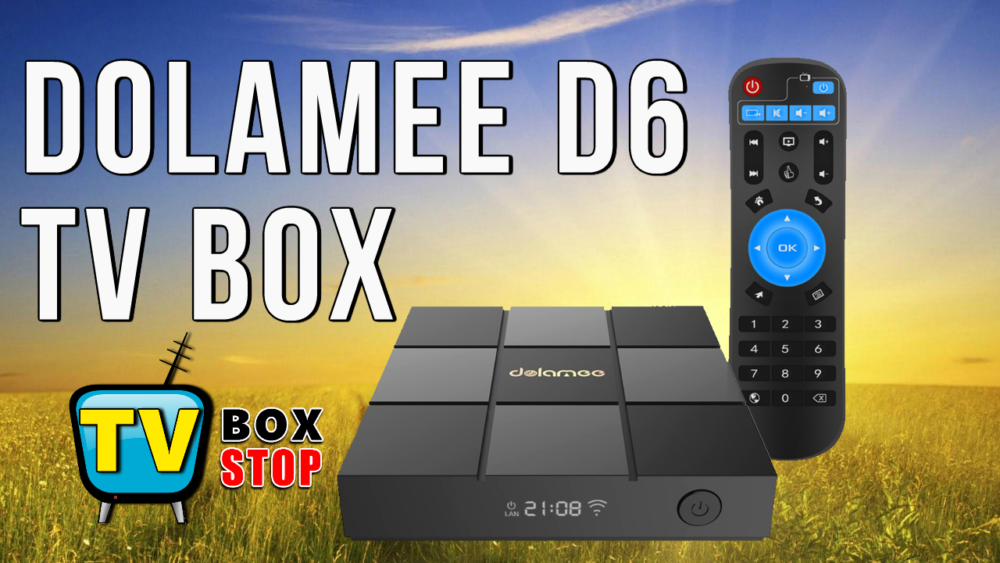 Dolamee D6 Android 6.0 TV box