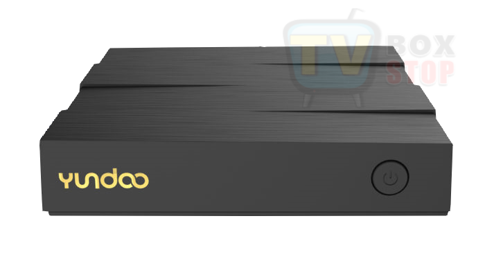 Yundoo Y8 TV Box Front Straight view