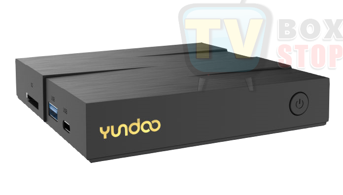Yundoo Y8 TV Box Front view