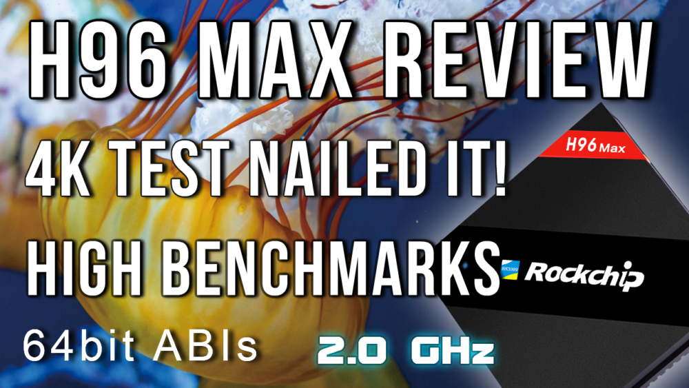 H96 Max Review - Surprising results! | TV Box Stop