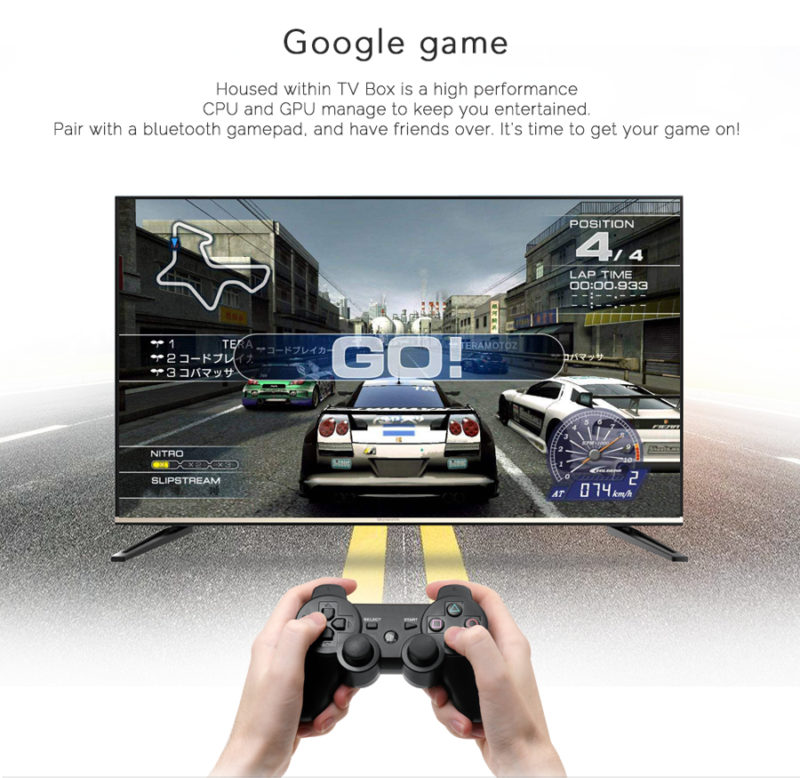 Mecool KM8 gamepad gaming