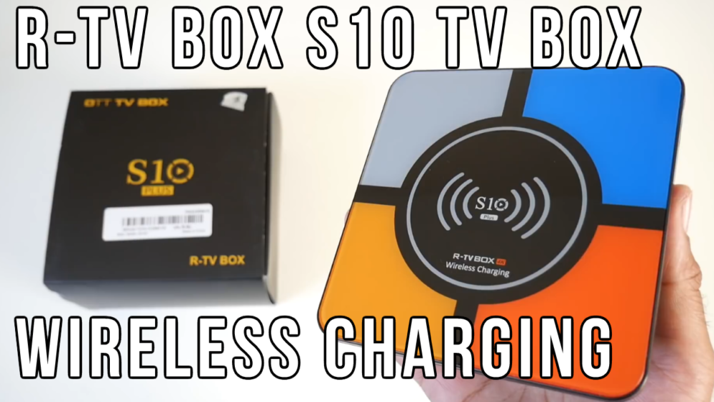 R-TV BOX S10 PLUS 4GB RAM 32GB ROM with Wireless Charging and Voice R Tv on bounce tv, wgn america, daystar television network, tuff tv, this tv,