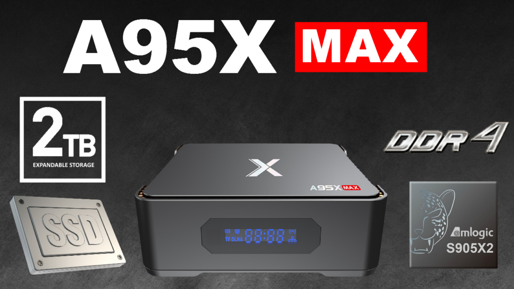 A95X MAX S905X2 banner