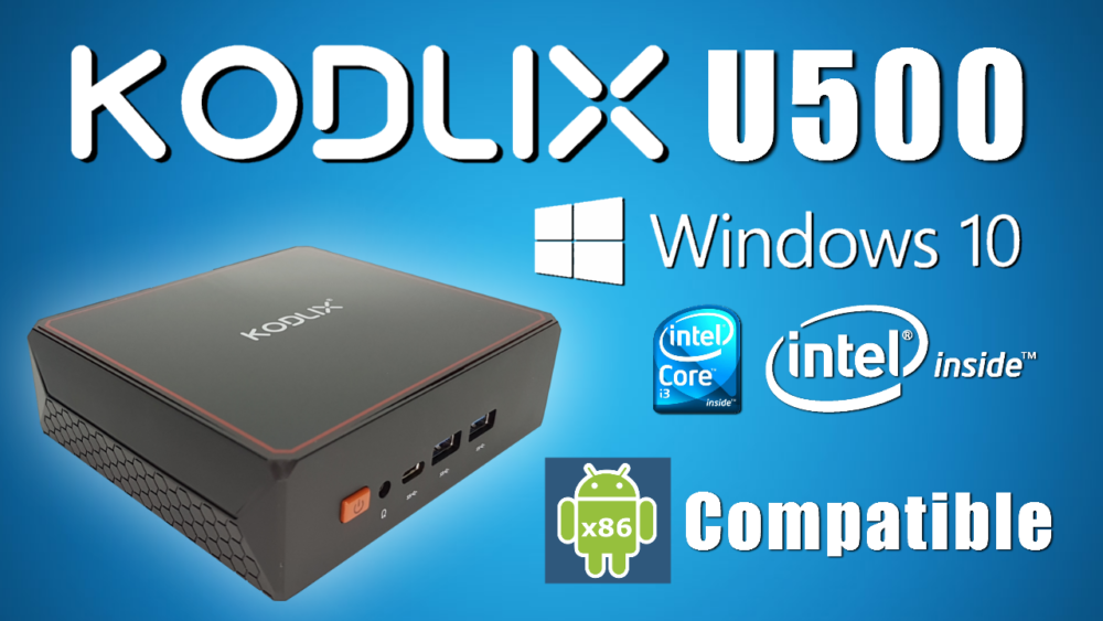 Kodlix U500 Mini PC Banner