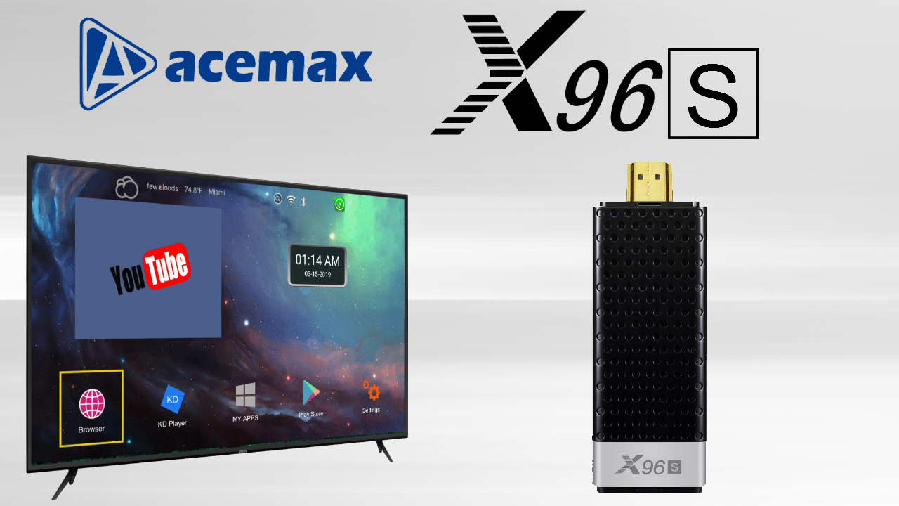 Acemax X96S TV Dongle