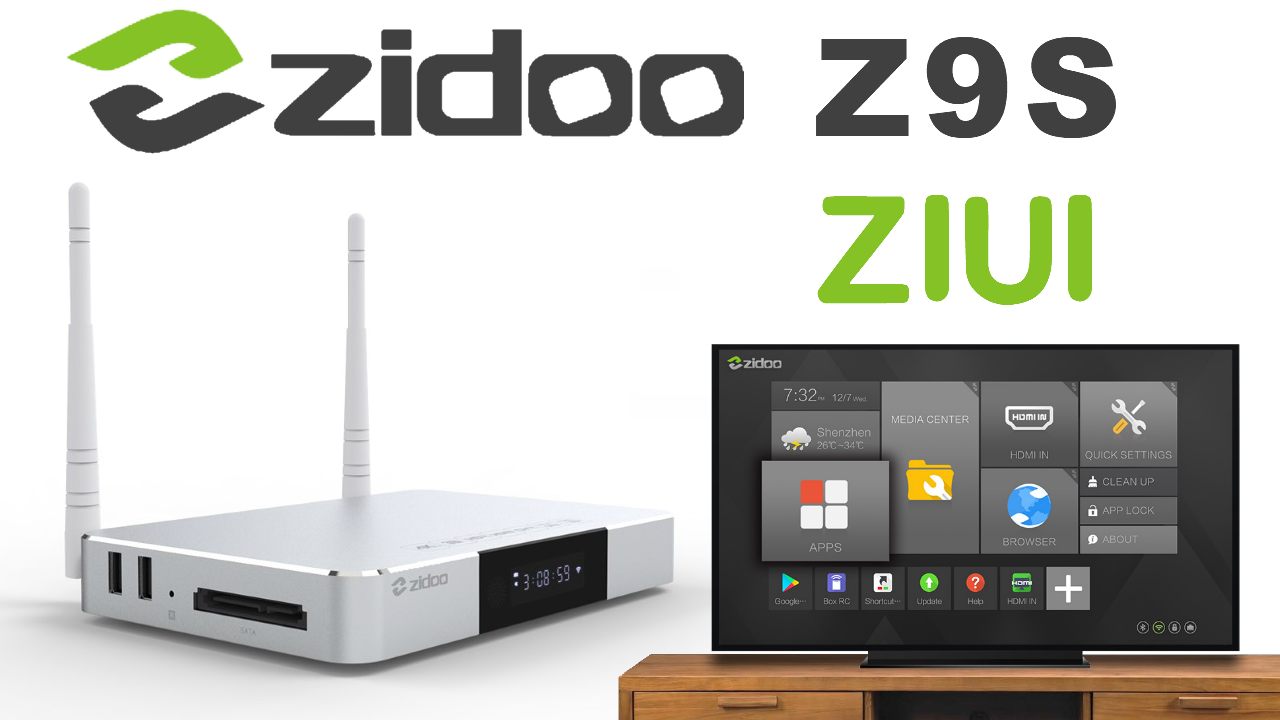 ZIDOO Z9S TV Box
