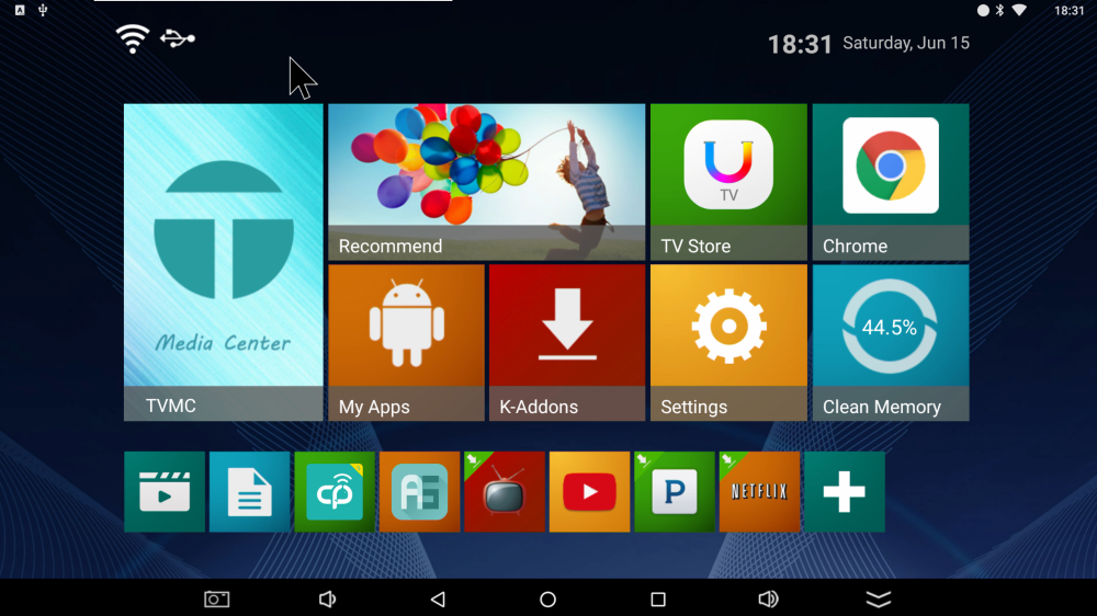 Vankyo_X95_Plus_Launcher