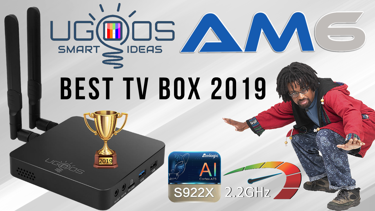 Ugoos AM6 TV Box Banner 2