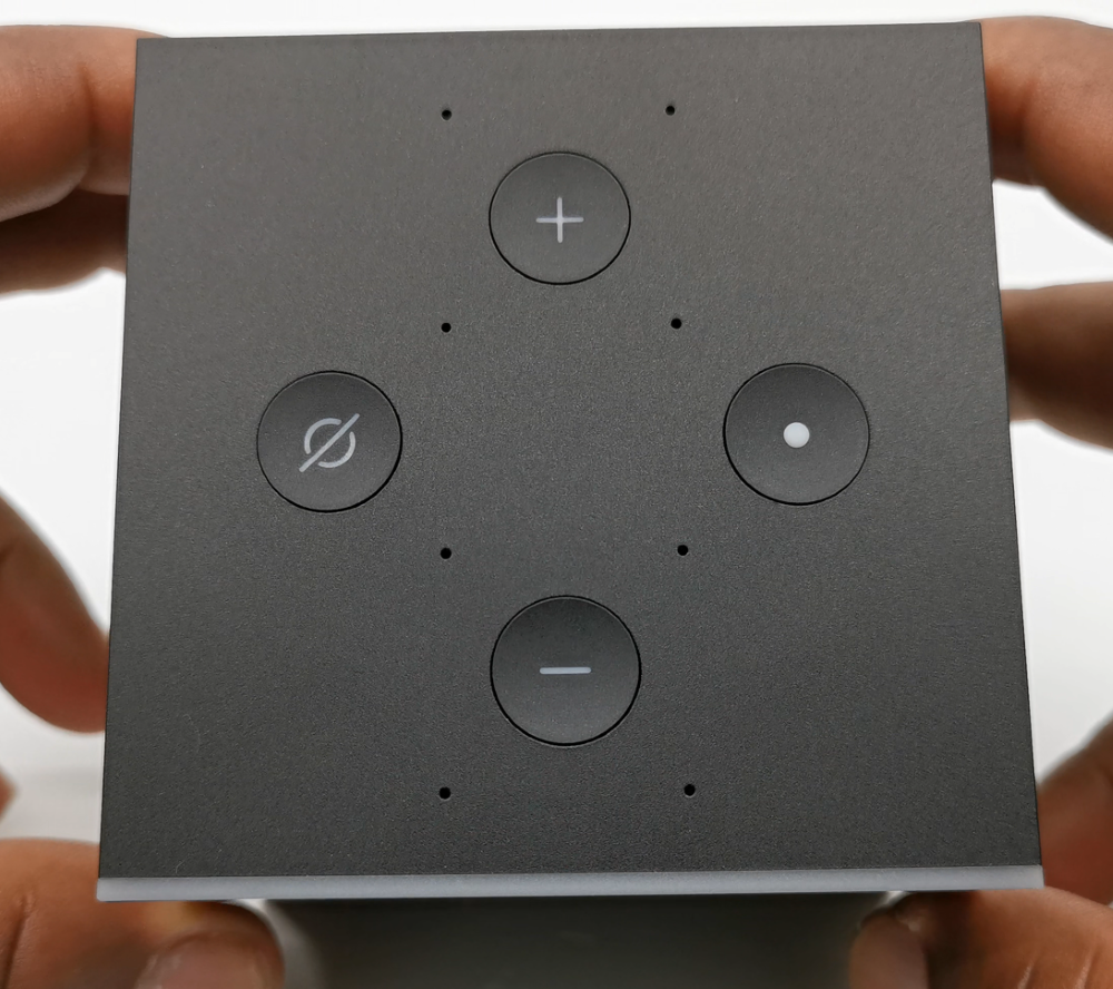 Amazon_fire_Cube_top_controls