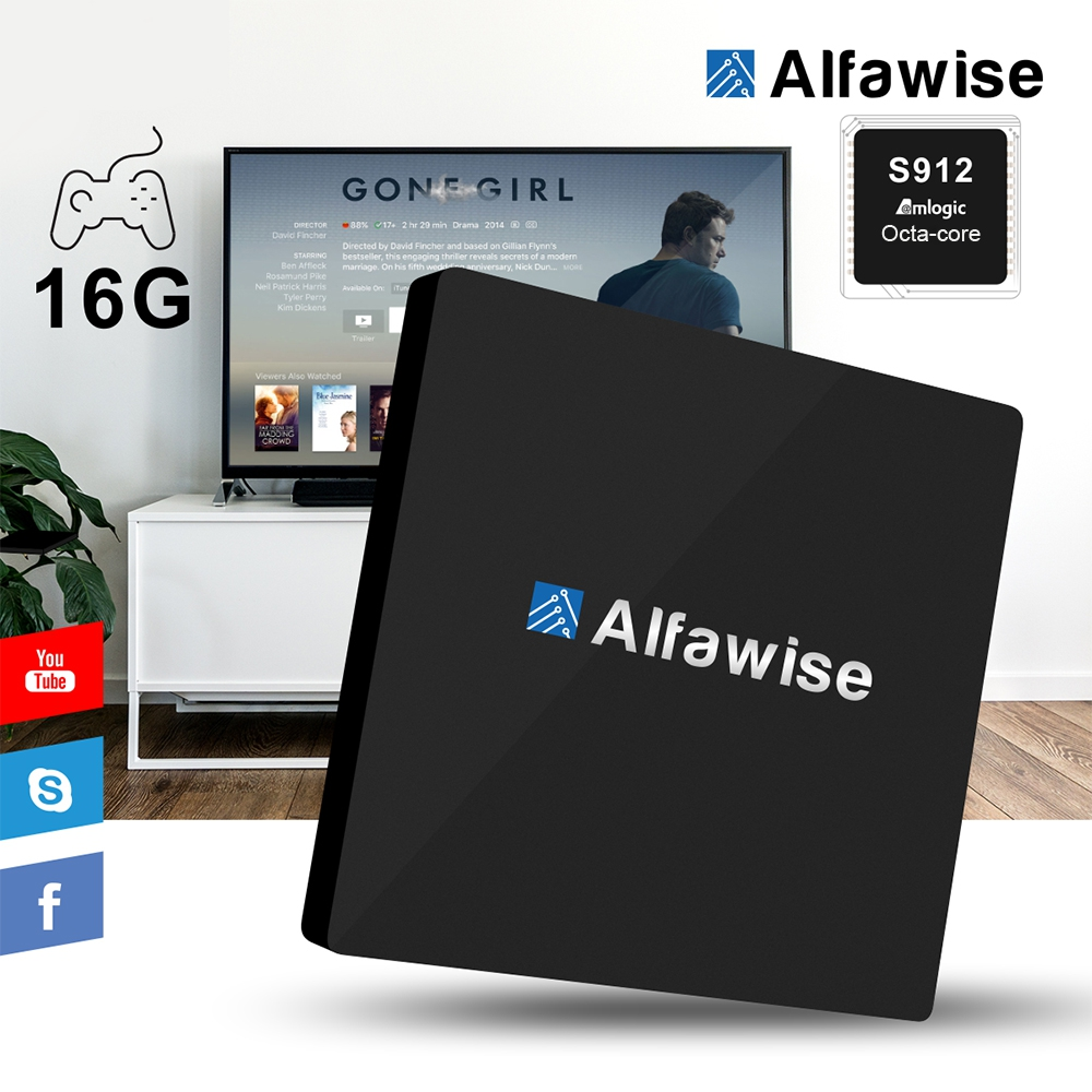 Alfawise S92 Android TV Box