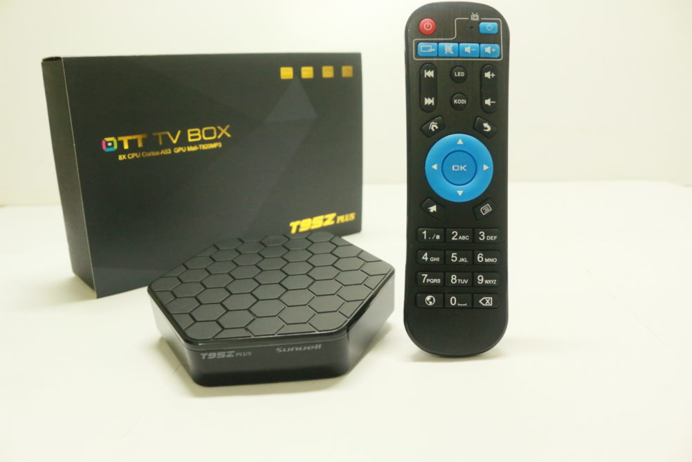 Sunvell T95Z Plus Amlogic S912 TV-Box