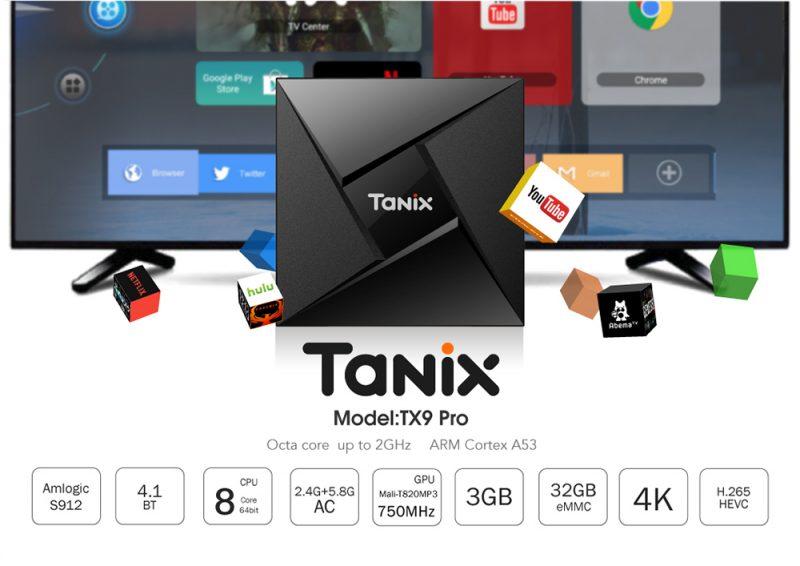 جهاز Tanix TX9 Pro TV Box