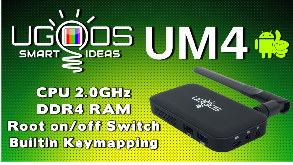 Ugoos UM4 TV Dongle Banner