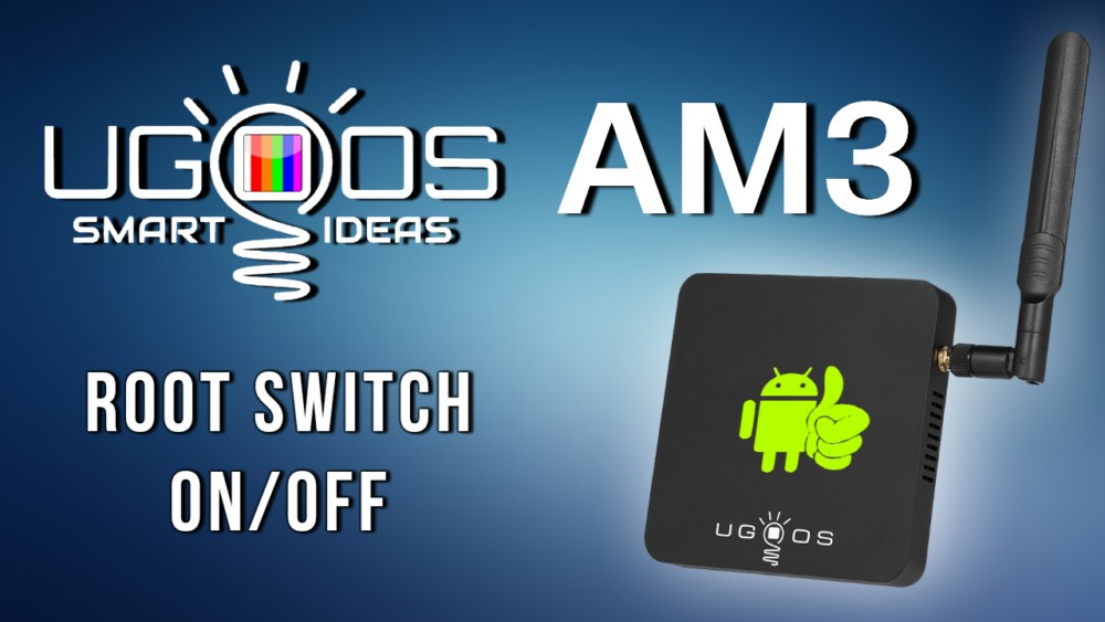 Ugoos AM3 TV Box