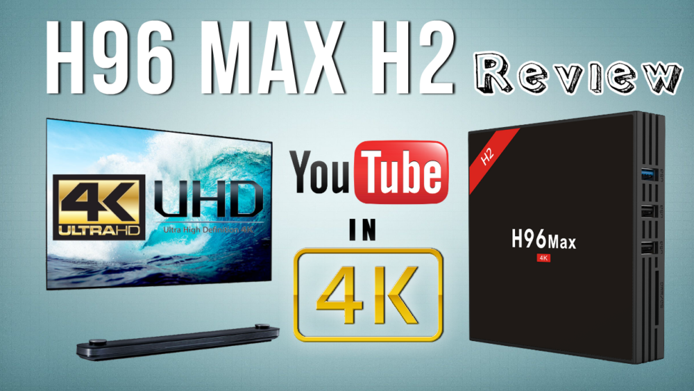 H96 Max H2 Android TV Box