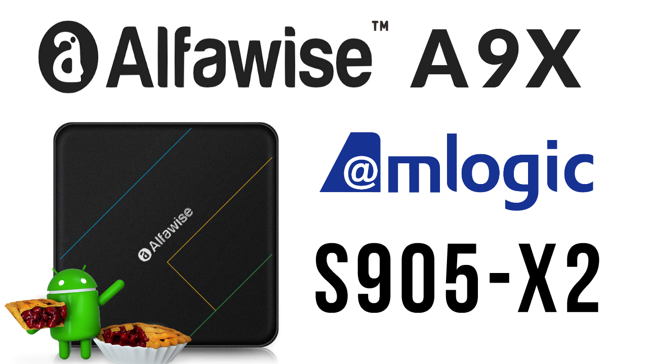Alfawise A9X TV Box Banner