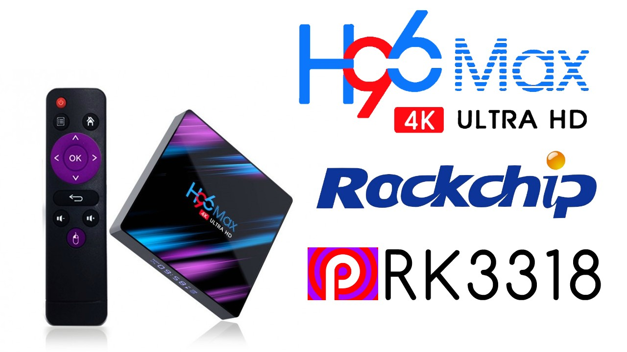 H96 Max RK3318 Banner