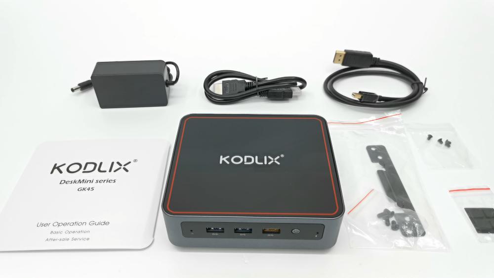 Kodlix GK45 Mini PC In The Box