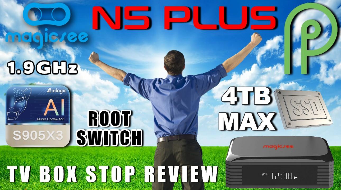 Magicsee N5 Plus TV Box Review