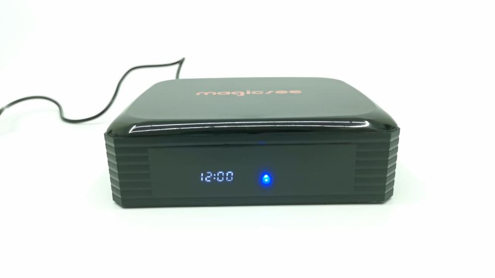 Magicsee N5 Plus Front Clock display