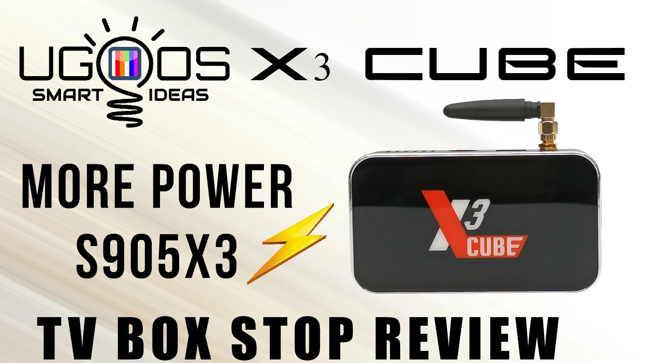 Ugoos X3 Cube TV Box Stop Review