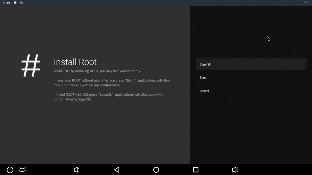 Ugoos X3 Pro root switch