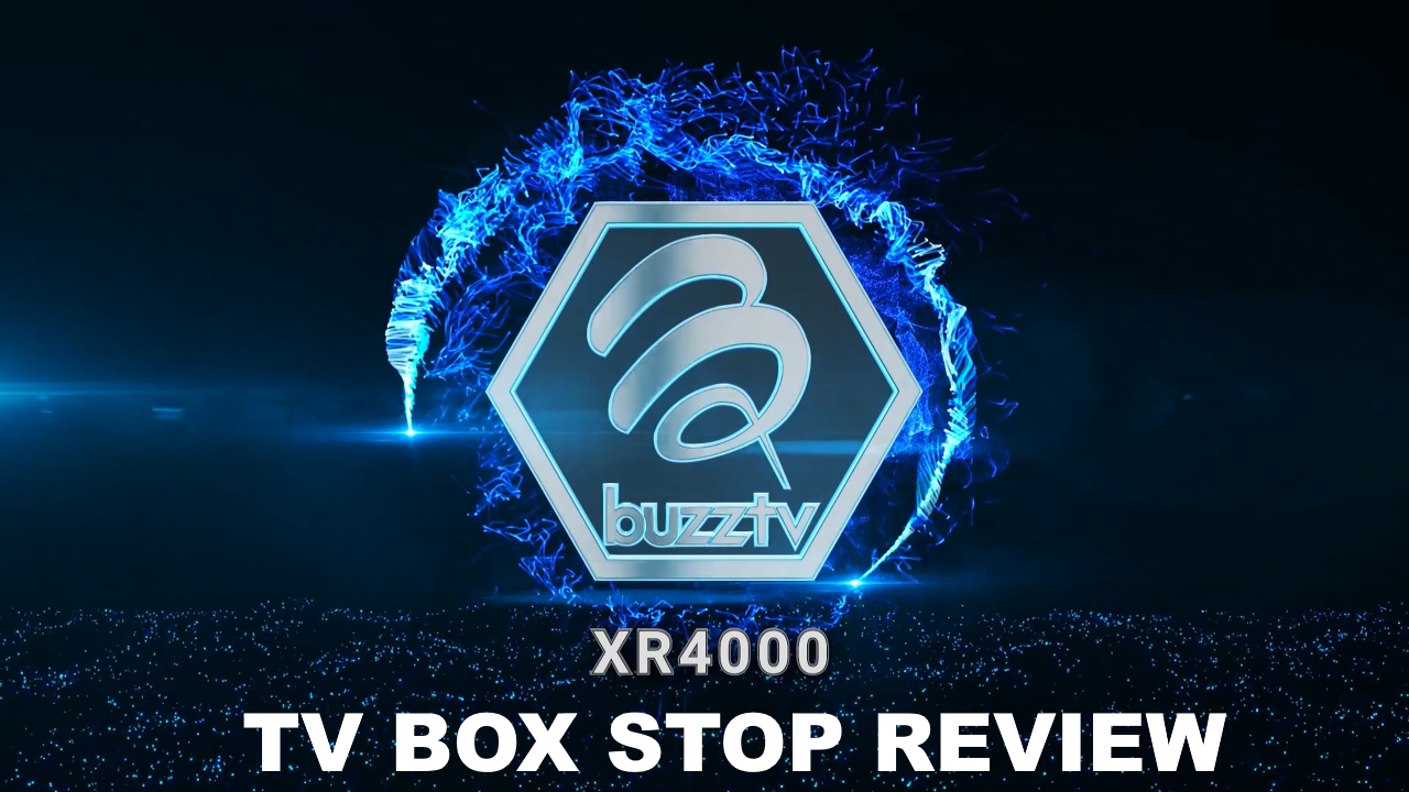 BuzzTV XR4000 IPTV TV BOX