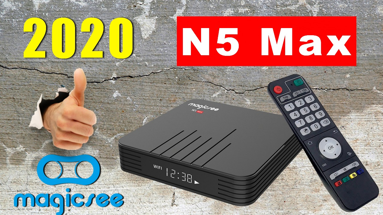 Magicsee N5 Max S905X3 TV Box