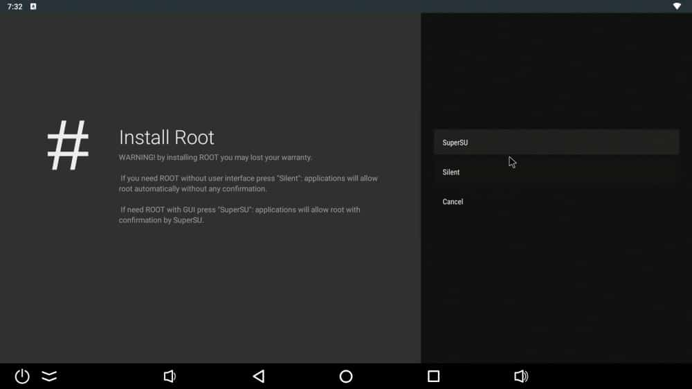 Ugoos AM6 Plus Root Switch